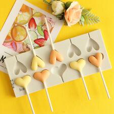 Herz Liebe Kuchen Jelly Lolly Gussform Schokolade Backen Candy Form Tablett Cube