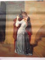 Francesco Hayez - Olio Su Tela - Tela d'autore Dipinto a olio - 69 x 60 cm
