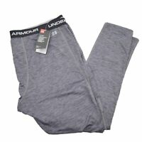 Under Armour Coldgear Men's Base Layer 2.0 Fitted Thermal Leggings Size 3XL Gray