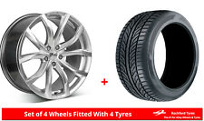 "Alloy Wheels & Tyres 18"" Zito 1852F For Mercedes A-Class A45 AMG [W176] 13-18"