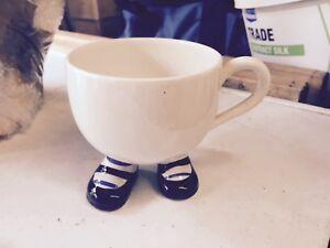 Carltonware Walking Ware Nice Mug With Shoes & Socks On It's Feet