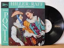 ★★ LP - FERDINAND HILLER - JOACHIM RAFF - Piano Concerti - Michael Ponti