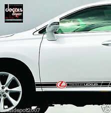 Racing Stripes Vinyl LEXUS RX350, ES350, ES330, is250, LX570, GS460, GX470