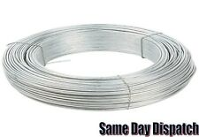 Heavy Duty Galvanised Wire. Fencing Wire Outdoor. 0.7, 0.9, 1.0, 1.25, 1.6 & 2mm