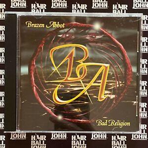 Brazen Abbot - Bad Religion CD (Joe Lynn Tuner / Glenn Hughes + Hair Metal Gifts