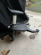 Bugaboo Comfort Wheeled Buggy Board With Seat And Buffalo/Donkey Adapter