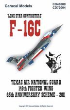 CARACAL MODELS 1/72 F-16C Lone Star personnages nº 72004