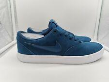 Nike SB Check Solar UK 8 Blue Force Gunsmoke 843895-404
