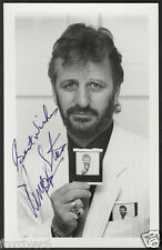 RINGO STARR Signed Photograph - Pop Star Drummer THE BEATLES - preprint