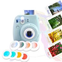 For Fujifilm Instax Mini 7s/8/8+/9 Film Camera 4 Filters Close-Up Pure/Gradient