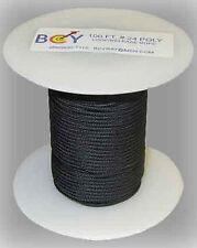 BCY ''D'' Loop Rope Bulk 2mm x 100' Black