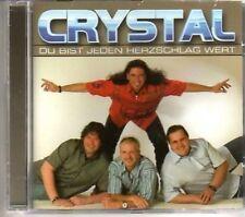(AJ751) Crystal, Du Bist Jeden Herzschlag Wert- 2004 CD