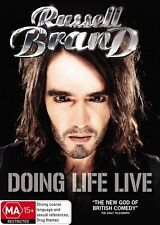 Comedy Stand-Up Russell Brand Doing Life Live Region 4 PAL DVD Brand New Sealed