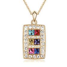 Rainbow Treasures Pendant Necklace for Birthday Mothers Day Graduation  (26593)