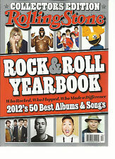 ROLLING STONE, MARCH,14th, 2013  COLLECTORS EDITION ( 2012 ROCK & ROLL YEAR BOOK