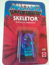 Masters of the Universe HE-MAN Custom Vintage Style Carded SKELETOR Minifigure