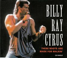 BILLY RAY CYRUS : THESE BOOTS ARE MADE FOR WALKIN' / CD - TOP-ZUSTAND