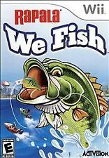Rapala: We Fish (Nintendo Wii, 2009)VG