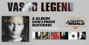 6 CD Box Set Cofanetto VASCO ROSSI LEGEND nuovo