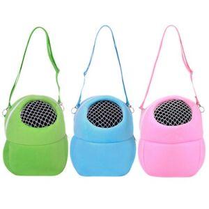 Small Pet Hamster Guinea Pig Travel Bags Bed Carrier Sling Portable Shoulder Bag