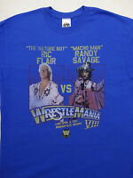 Randy Macho Man Savage vs Ric Flair Wrestlemania VIII 8 WWE Wrestling T-Shirt