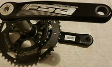 FSA Gossamer Compact 10/11 Speed Road Bike Chainset Crankset 50/34T BB30 175mm