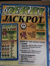 $420 Profit   Derby Jackpot pull tabs tickets casino