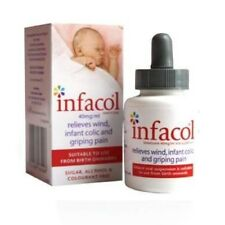 Infacol Baby Anti Colic Relief Drops 50ml from birth FREE UK POST EXP 09/2021