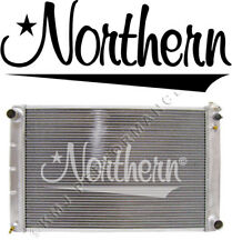 Northern 205056 Aluminum Universal Radiator 67-87 GM Chevy w Manual Transmission