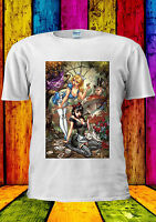Disney Princess Alice Sexy Cat Cheshire T-shirt VestTankTop Men Women Unisex 444