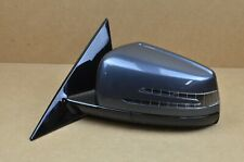 2010-2017 Mercedes W207 E-Class Coupe Left Driver LH Mirror Base Gray OEM