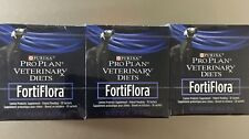 3 Pack FortiFlora CANINE Nutritional Supplement by Purina Box of 30 1 gram