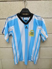 VINTAGE Maillot ARGENTINE ARGENTINA jersey shirt ADIDAS AFA camiseta S rare