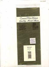 Brass Sheet -  KSE250 - 0.005In X 4In X 10In - K&S  1pc
