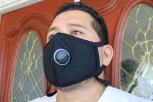 757  Big and tall Exercise Running hiking face mask face cover RESPIRATOR XL
