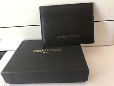 Brand New Audemars Piguet Wallet Card Holder Black w. Gift Box