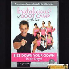 The Knot BRIDALICIOUS BOOT CAMP 8 DVD Doug Rice Bride Workout Wedding Dress Slim