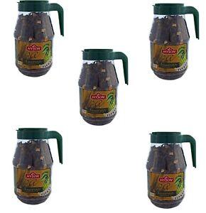 5 x HYSON Grüner loser Tee mit Anoda Soursop mit Anodastückchen 1,25kg.