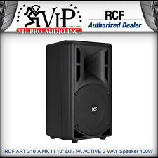 "RCF ART 310-A MKiii 10"" DJ / PA ACTIVE 2-WAY Powered Speaker 400W Amplified NEW"