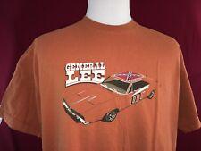 Barris Kustom Original General Lee Orange XL T Shirt made in USA Dukes Of