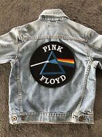 Pink Floyd Patch Iron On Sew On Embroidered New Music Band Big Size 22cm X 22cm