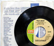 JACKIE DeSHANNON 45 Holly Would / Laurel Canyon PROMO Folk ROCK Liberty e3165