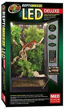 Zoo Med Reptibreeze LED Deluxe Habitat avec Eclairage pour Reptile/amphibien ...