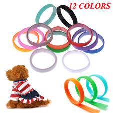 Whelp ID Collars Newborn Kitten Puppy Whelping Velcro Collar Breeder Band 12 PCS