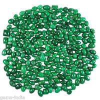 5000 Carat Natural Brazilian Green Emerald Mix Cab 345 Pcs Gems Lot For Jewelry