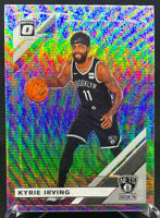 Kyrie Irving 2019-2020 Panini Donruss Optic Silver Wave #102 Brooklyn Nets