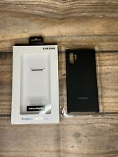 Samsung Galaxy Note 10+ Silicone Back Protective Case Cover Offical OEM Original