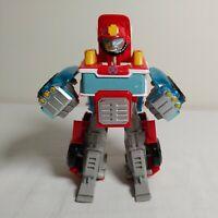 Transformers Playskool Heroes Rescue Bots Heatwave Energize Fire Truck Rare