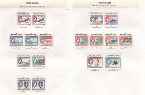 Virgin Islands. SG 149-161, 1/2c to $4.80. Fine mounted mint.