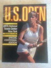 U.S. Open Tennis Magazine CHRIS EVERT Souvenir Centennial Edition 1981